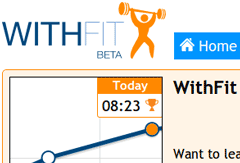 WithFit Screenshot